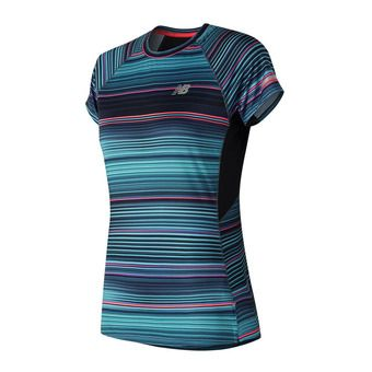 Maillot MC femme ICE 2.0 KNIT maldblue