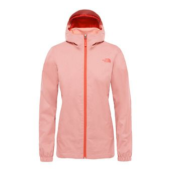 Veste à capuche femme QUEST desert flower orange heather