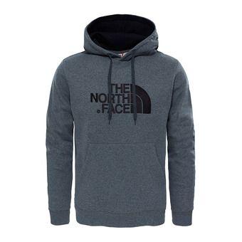 The North Face DREW PEAK - Felpa Uomo tnf medium grey heather/tnf black