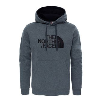 The North Face DREW PEAK - Sudadera hombre tnf medium grey heather/tnf black
