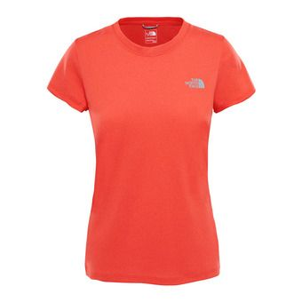 Camiseta mujer REAXION AMP CREW juicy red heather