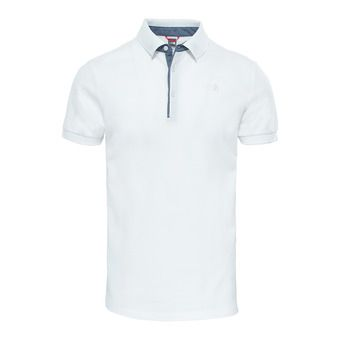 The North Face PREMIUM - Polo - Men's - tnf white/gardenia white
