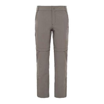 Pantalon convertible femme EXPLORATION weimaraner brown