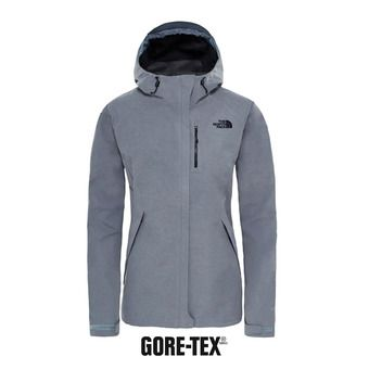 Chaqueta Gore-Tex® mujer DRYZZLE tnf medium grey heather