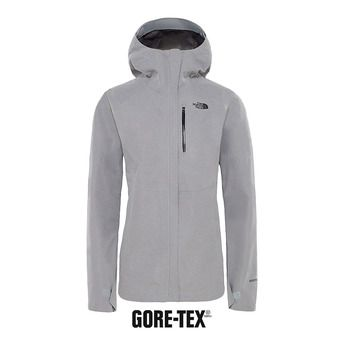 The North Face DRIZZLE GTX - Giacca Donna tnf medium grey heather