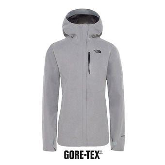 Veste à capuche Gore-Tex® femme DRYZZLE tnf medium grey heather