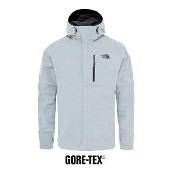 Veste à capuche Gore-Tex® homme DRYZZLE tnf light grey heather