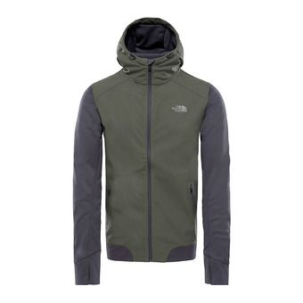 Veste à capuche homme KILOWATT VARSITY grape leaf/asphalt grey