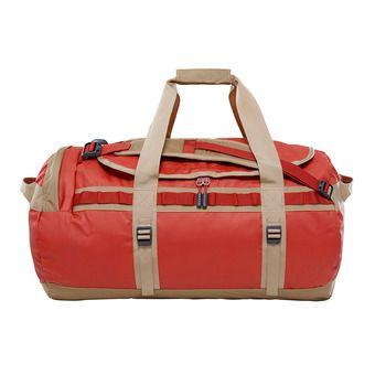 Bolsa de viaje 71L BASE CAMP M bossa nova red/kelp tan