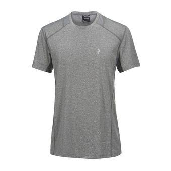 Camiseta hombre REACT grey melange