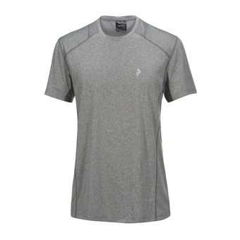 Maillot MC homme REACT grey melange