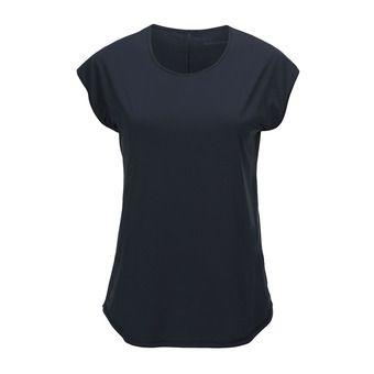 Peak Performance WEPICCAPSL - Maillot Femme salute blue