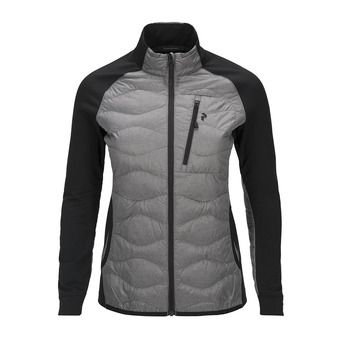Jacket - Women's - HELIUM HYBRID grey marl