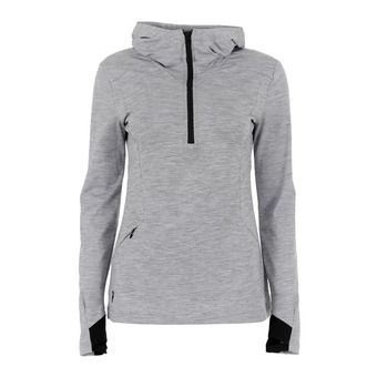 Peak Performance CIVIL - Sweat Femme med grey melange
