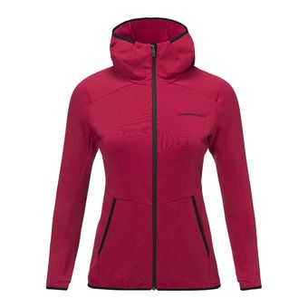 Peak Performance HELO - Jacket - Femme true pink