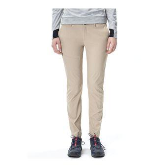 Pantalon femme TRECK slow beige