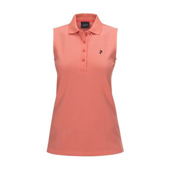 Peak Performance CL PIQUE - Polo - Women's digital pink