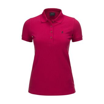 Peak Performance GOLF - Polo mujer true pink