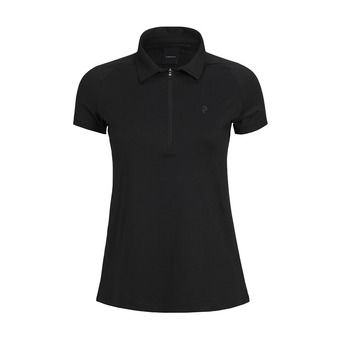 Peak Performance ZIP - Polo Donna black