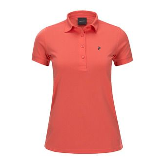 Peak Performance ELSHAM - Polo Donna pink flow