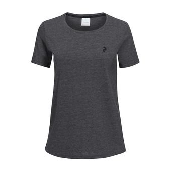 Peak Performance TRACK - Tee-shirt Femme dark grey melange