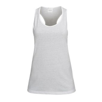 Camiseta de tirantes mujer TRACKTA white