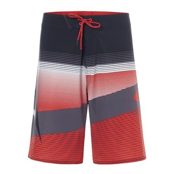 Boardshort homme GNARLY WAVE 21 red line