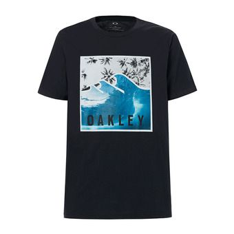 Camiseta hombre 50-PALM WAVES blackout