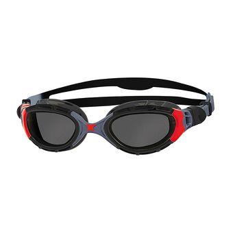 Zoggs PREDATOR FLEX - Lunettes de natation back/red/smoke