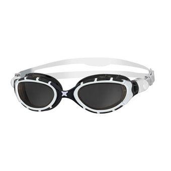 Zoggs PREDATOR FLEX - Lunettes de natation white/black/smoke
