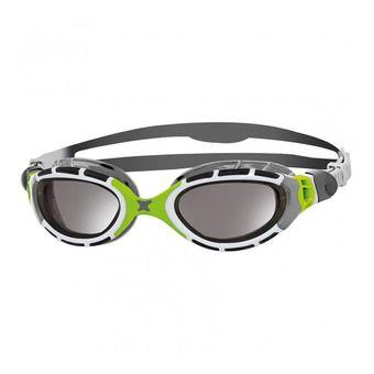 Gafas de natación PREDATOR FLEX TITANIUM grey/green/titanium