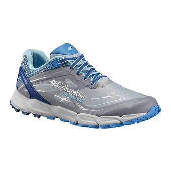 Columbia CALDORADO III - Trail Shoes - Women's - earl grey/coastal blue