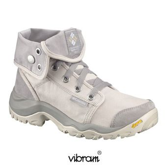 Columbia CAMDEN - Chaussures randonnée Femme ancient fossil/grey ice