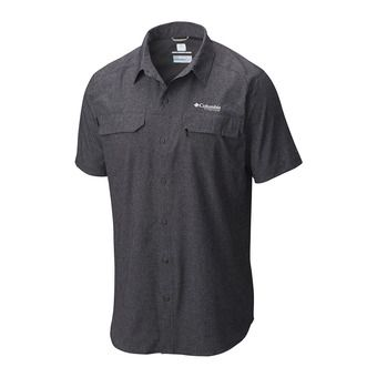 Columbia IRICO - Polo hombre black heather