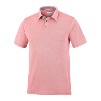 Columbia NELSON POINT - Polo hombre red spark