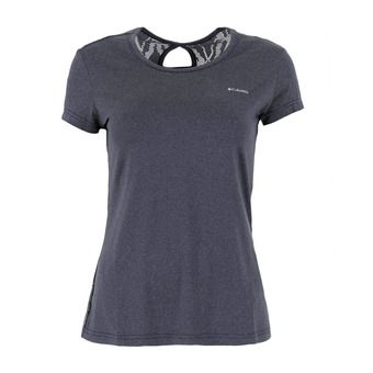 Columbia PEAK TO POINT - Camiseta mujer nocturnal