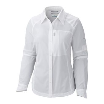 Camisa mujer SILVER RIDGE II white