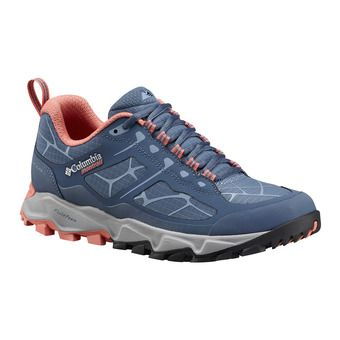 Columbia TRANS ALPS II - Trail Shoes - Women's - steel/melonade