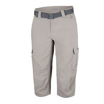 Columbia SILVER RIDGE II - Cropped Pants - Men's - tusk