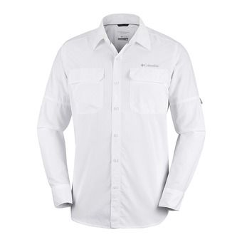Columbia SILVER RIDGE II - Shirt - Men's - white