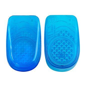 Paire de talonettes enveloppantes en gel HEEL CUP blue