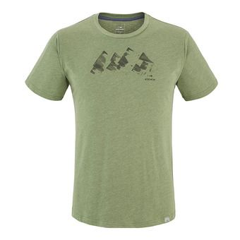 Tee-shirt MC homme YULTON dark khaki mountains