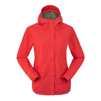 Chaqueta mujer BRIGHT NET spicy coral