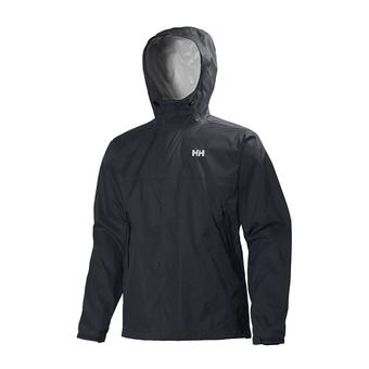 Hooded Jacket - Men's - LOKE graphite blue