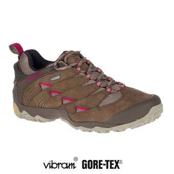 Chaussures de randonnée femme CHAM 7 GTX merrell stone