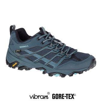 Chaussures randonnée femme MOAB FST GTX slate