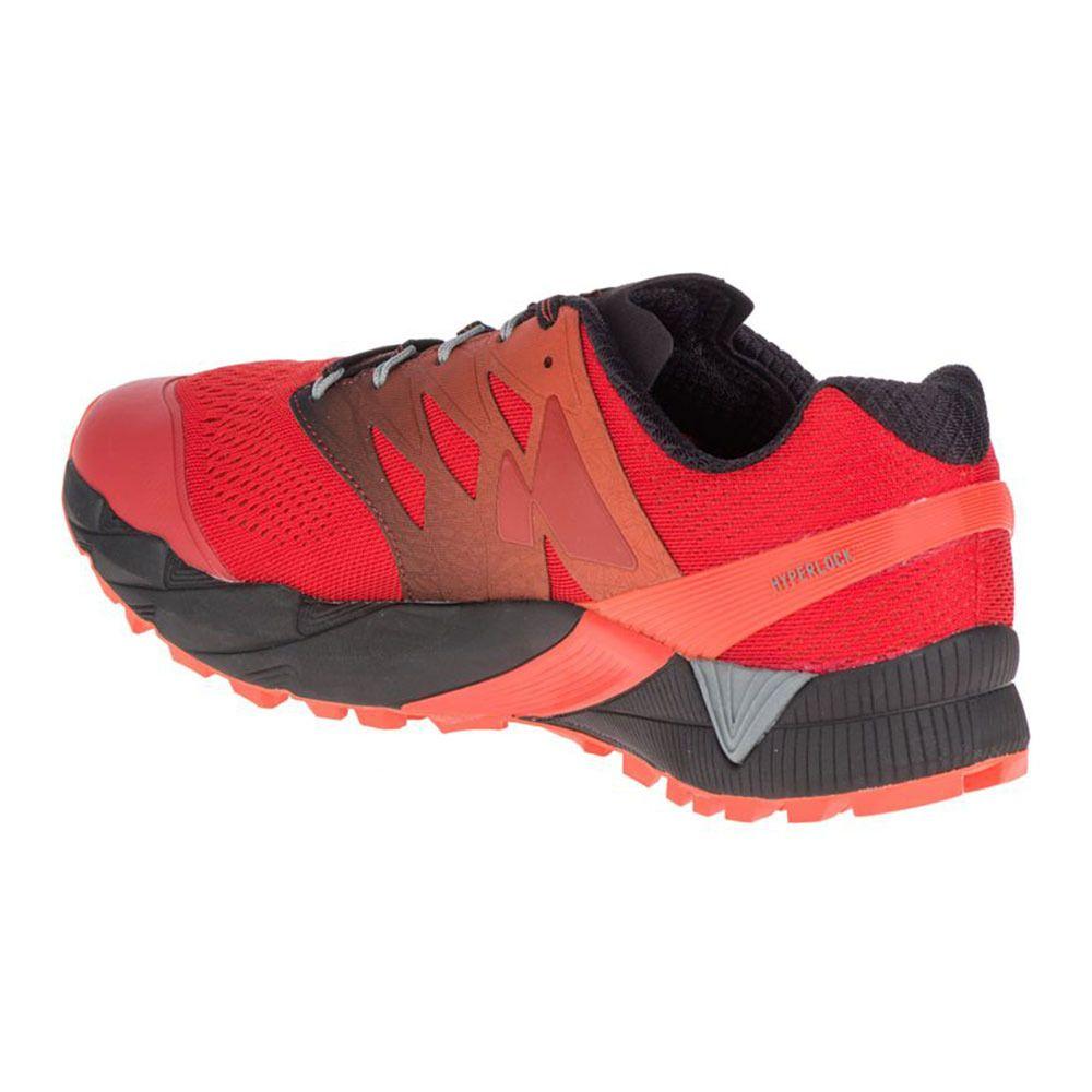 Merrell Agility Peak Flex 2 E-Mesh, Chaussures de Trail Homme, Orange (Spicy Orange), 44 EU