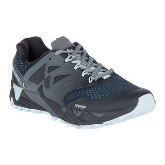 Merrell AGILITY PEAK FLEX 2 E-MESH - Zapatillas de trail mujer black