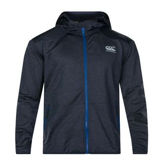Sweat zippé à capuche homme VAPODRI FZ total eclipse marl