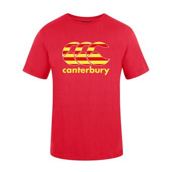 Canterbury TEAM PLAIN - Camiseta hombre red catalogne